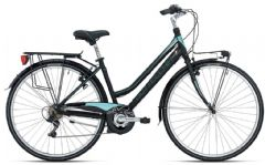 Bottecchia Ladies City Trekking Bike - Black/Blue